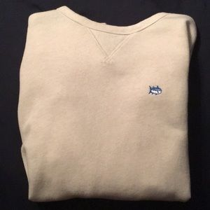 Southern Tide Cream Sweater (Brand New, Size M)